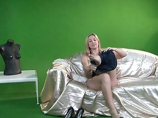 Blonde Silvia Saint parts her legs on cam with no shame