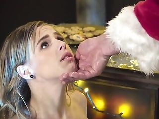 Jillian Janson anal fucked by Sanat on Christmas day