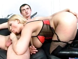 Full bosomed Anastasia boned hard