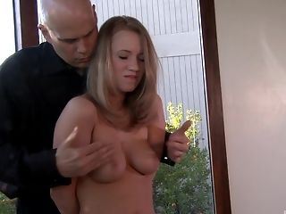 Kinky Bailey Brooke gets her delicious pussy fingered by a neighbor