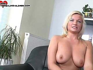 Busty Tereza can't wait to give that guy a nice cowgirl ride