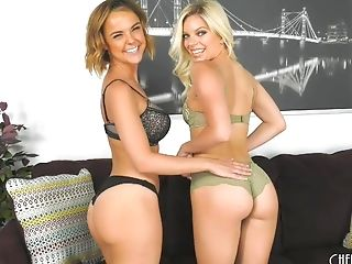 Dillion Harper and Trisha Parks have some naughty lesbian fun