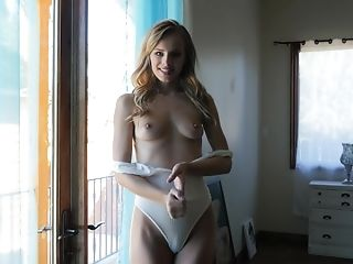 Jillian Janson enjoys showing off her amazing body