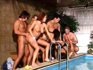 These hoes love pool parties and wild orgies and they love getting fucked hard