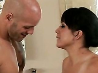 Bathroom, Beauty, Brunette, Cute, Horny, Kayme Kai, Massage, MILF, Oiled, Slut,