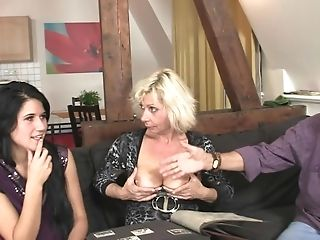 Couple, Family, Group Sex, Mature, Mom, Old, Seduction, Teen, Threesome, Wife,