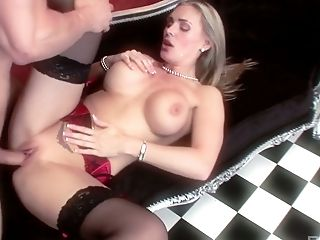 Alluring blonde MILF Tanya Tate gets nailed hard by her eager fellow