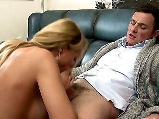 Full tittied blond mommy Antonia Deona got her kitty pleased in multiple styles tough