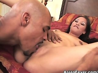 Exotic pornstar Jessica Bangkok in Best Big Cocks, Interracial porn video