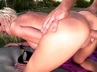 Milf Puma Swede gets her mouth stretched by meaty hard worm of hot fellow