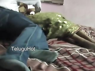 Telugu Couple Doing Romance Scene