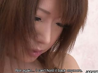 Ardent hot lady from Japan Hina Mitsuki is so into fingering her own twat