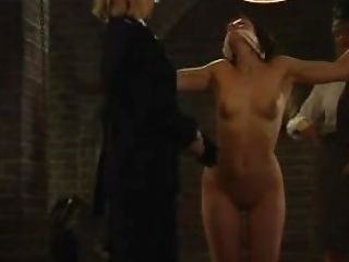 Rough Strapon Sex With Slave And Mistress