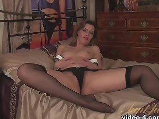 Crazy pornstar in Fabulous Small Tits, Stockings xxx scene