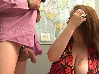 Horny pornstar Desiree Deluca in fabulous mature, facial adult clip