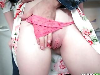 Sweetie Athena Rayne enjoys sucking a big pole before a crazy pussy fuck