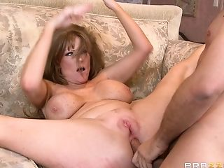 Mature cheating wife Darla Crane having sex with her neighbor