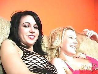 Sluts Riley Mason and Ruth Blackwell doing hot Julius Ceazher
