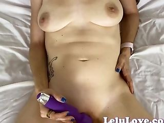 You spy and peek in on me masturbating til I invite you in for POV blowjob and fucking - Lelu Love