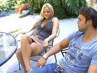 Whore wife Alexis Texas is cheating on her husband with one young dude