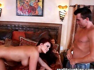 Amazing pornstar in Crazy DP, Anal porn scene